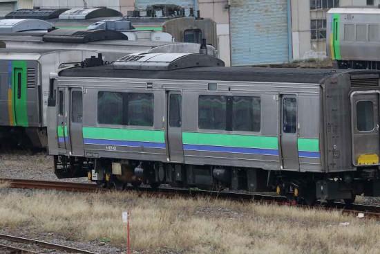 苗穂工場-キハ201