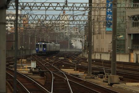 北斗-札幌駅入線