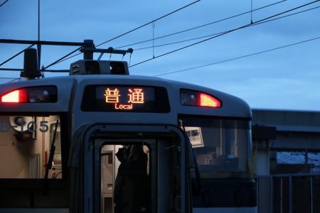 普通電車-普通に撮る