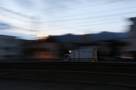 トラック-1/8シャッタースピード
