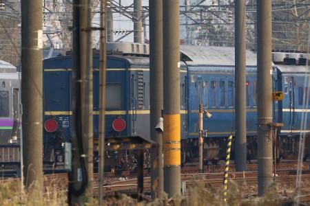 札幌運転所-高速軌道試験車マヤ34-2008