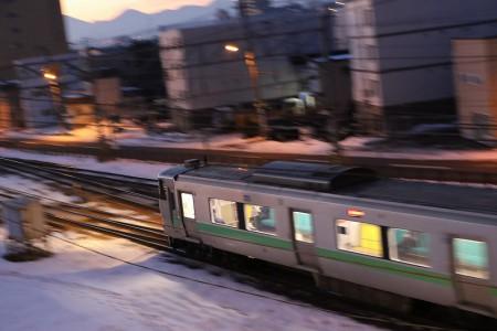苫小牧行き普通電車
