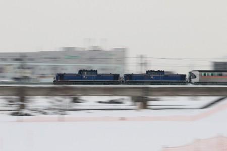 カシオペア-豊平川鉄橋