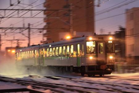 然別行き普通電車-キハ150