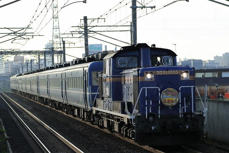 急行はまなすの最終日は3月21日-北海道新幹線設備切替えに伴う列車の運休