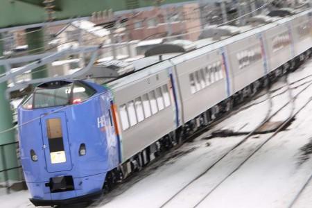 スーパーとかち1号-7両編成ST1206