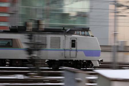 特急オホーツク1号-札幌駅