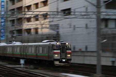 ズーミング流し-普通電車