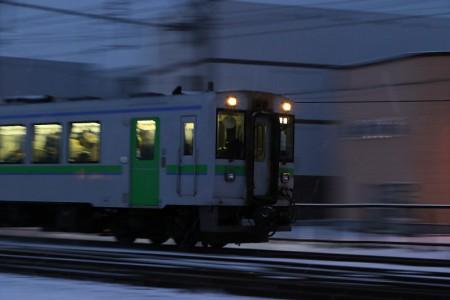 然別行き普通電車