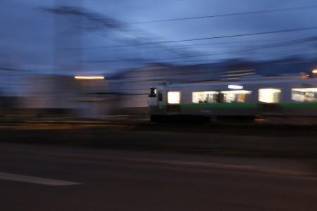 普通電車流し撮り