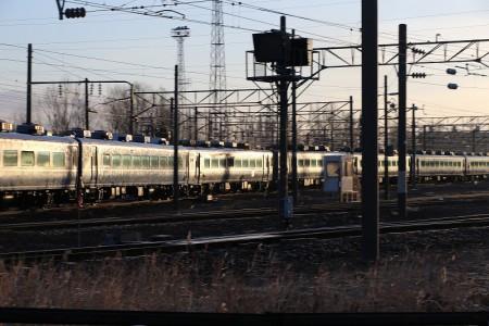 札幌運転所客車移動