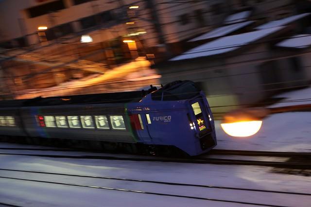 急行はまなすが来なくてもいつもの場所でいつもの列車を