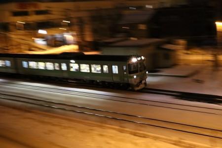 滝川行き普通列車