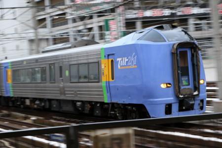 流し撮り-スーパー宗谷札幌駅