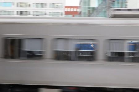 窓越しのDD51