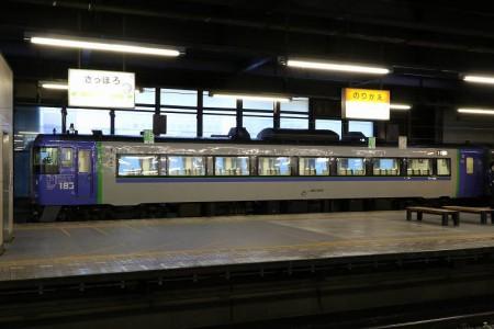 札幌駅11番線停車-北斗4号