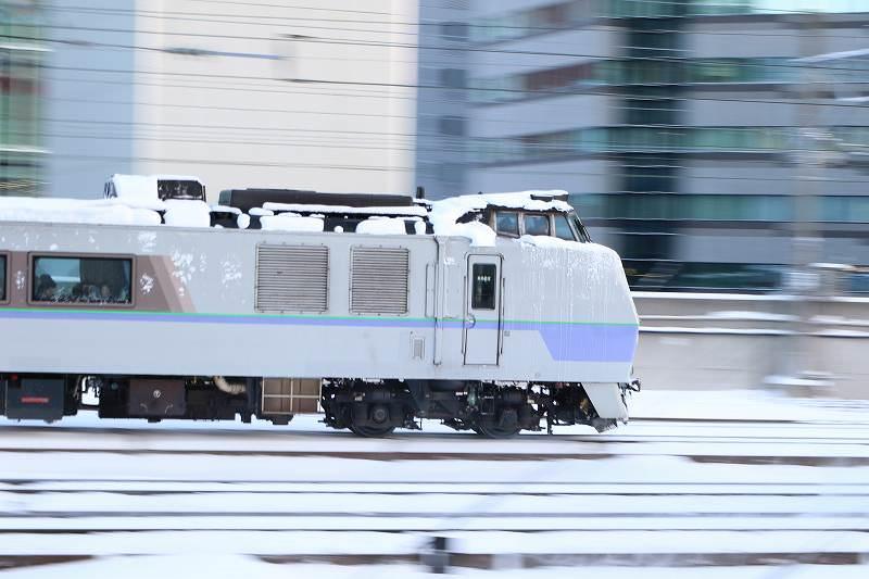 前後スラントオホーツクは3日目−聞くのも楽しい電車の話