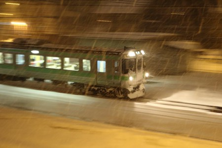 滝川行き-普通列車