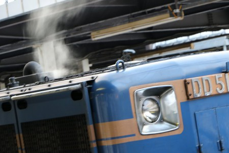 機関車の息吹