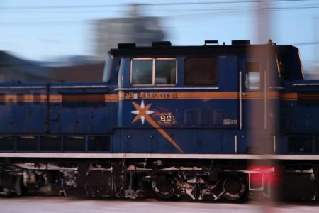 急行はまなす-機関車DD511143