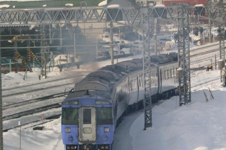 オホーツク3号-札幌駅へ
