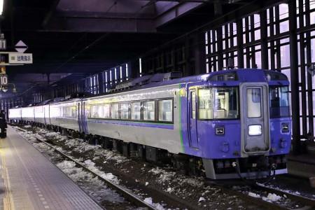11番線停車-北斗4具 札幌駅