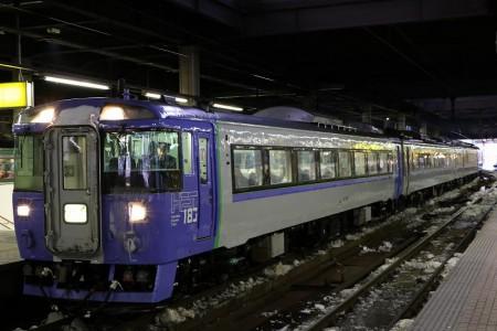 札幌駅-オホーツク キハ183-1554