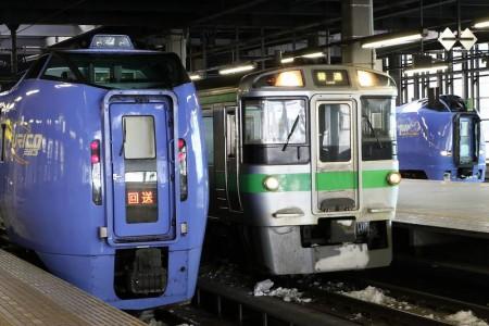 キハ283系とキハ261系100番代