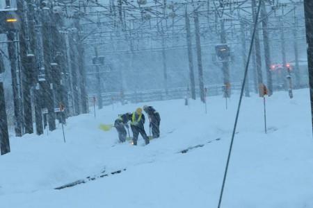札幌運転所-除雪作業