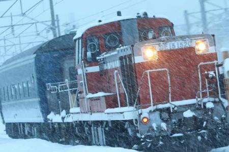 札幌運転所-客車移動