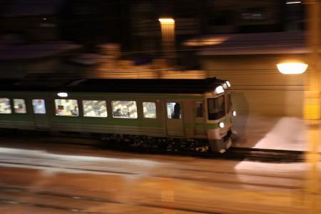 滝川行き普通電車