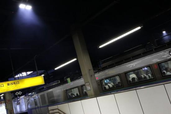 札幌駅 構内-排煙 充満