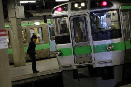 駅でのひとコマ