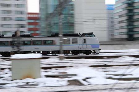 流し撮り オホーツク-キハ183 220