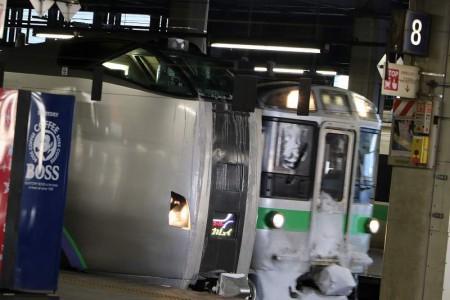 札幌駅-スーパーカムイ 789系