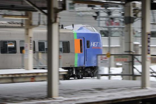 3番線-キハ261 回送出発