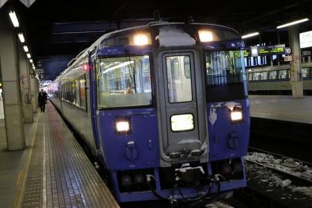 札幌駅-オホーツク1号