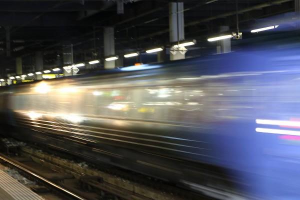 光線撮り-札幌駅 スーパーおおぞら