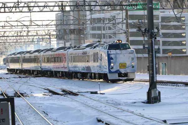 臨時特急 旭山動物園号-札幌駅