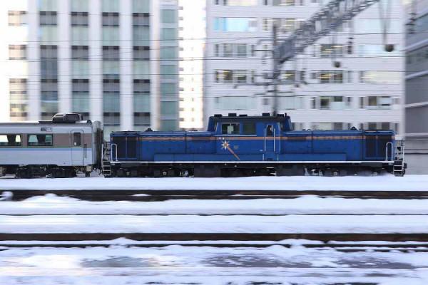 DD51 1148-苗穂運転所へ-試1191