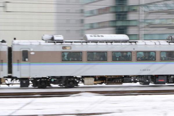 キハ183 212-オホーツク1号 11D 満員