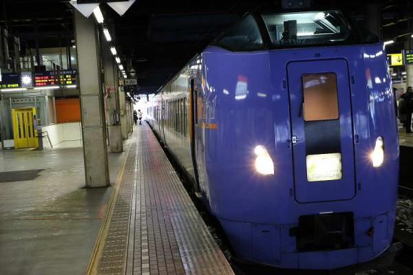 スーパーとかち キロ261 1102-札幌駅