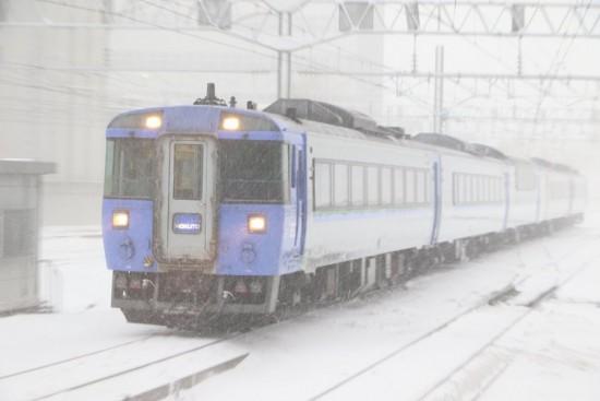 北斗4号-札幌駅 改装入線
