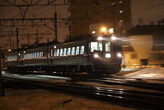 試9194列車-札幌運転所 手稲駅付近