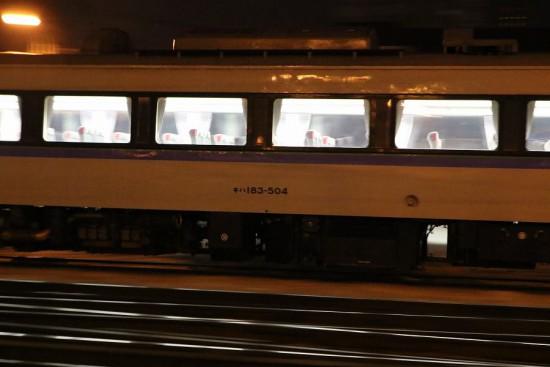 キハ183 1505-札幌運転所へ