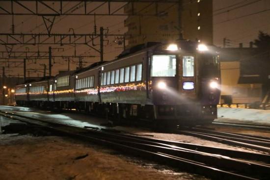 回送北斗15号-札幌運転所へ 手稲駅付近 通過