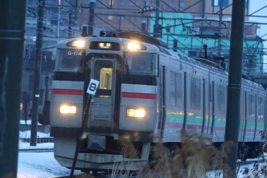 急行はまなす 被る電車-回送電車