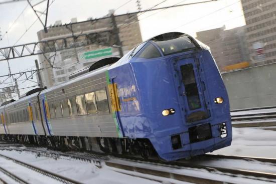 ズーム流し 流し撮り-スローシャッター 列車 31D