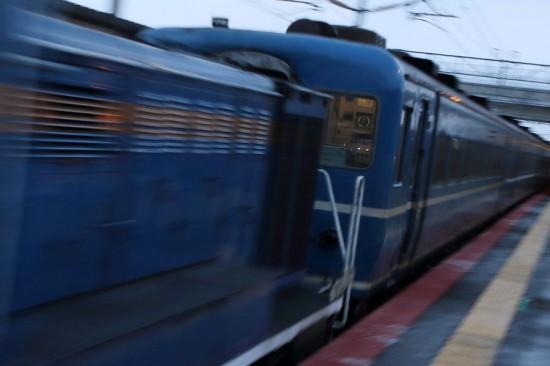稲積公園駅 急行はまなす-回送 列車