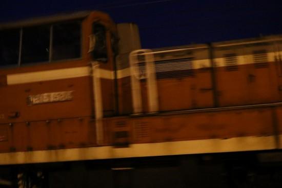 ラッセル車 DE15 1524 手稲駅-苗穂運転所方向 回送